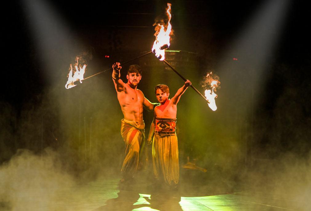 El Rey León llega a Granada a cargo del Circo Alaska