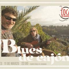 Concierto de Blues de Cajón en La Loca de Gandoca de Granada