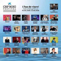 Concierto de Cap Roig Festival 2020 en Auditori Cap Roig en Girona