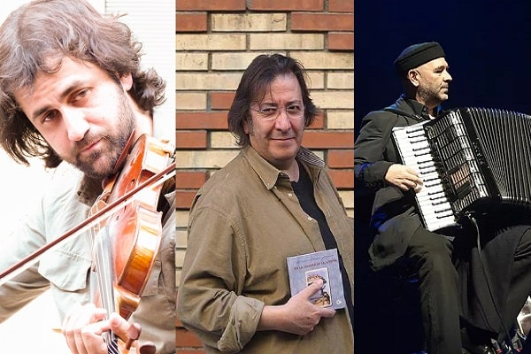 Cuco Pérez, Luis Delgado y Diego Galaz en el Cultural Cordón