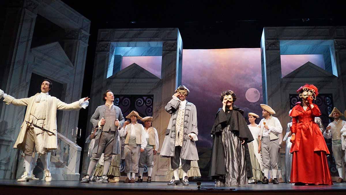 Ópera Don Giovanni en el Serantes de Santurtzi
