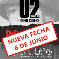 Green Covers Tributes en la Sala Porta Caeli Global Music NUEVA FECHA