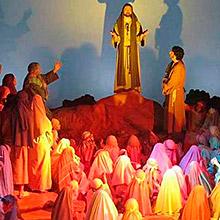 La Pasión (Huesca) en Teatro Salesiano