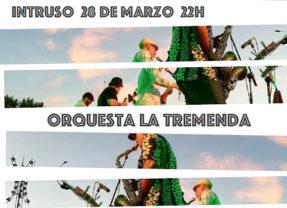Concierto de La Tremenda (son cubano) en El Intruso en Madrid