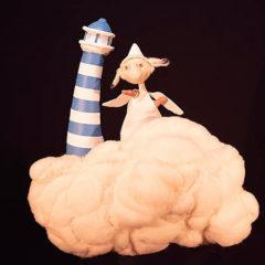 Nube a nube en Casa de Cultura de Valtierra en Navarra