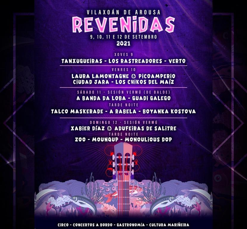 Revenidas, nueva edición del festival en Vilaxoán de Arousa