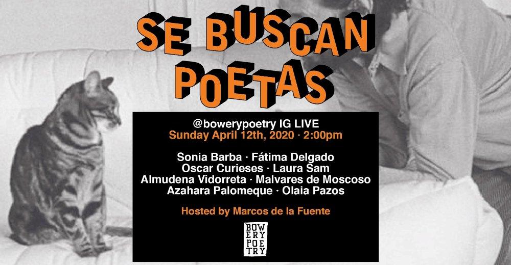 Recital poético español desde Manhattan