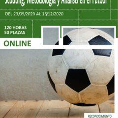 Formación en Dirección Deportiva , Scouting , Metodología y Análisis en el fútbol