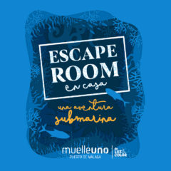 Muelle Uno lanza un escape room familiar para hacer en casa