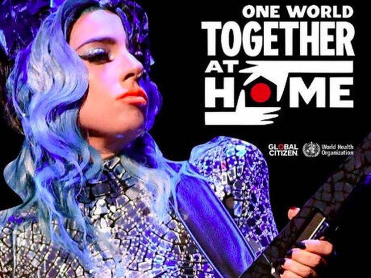 One World Together at Home el festival internacional de la cuarentena