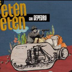 Fetén Fetén estrena nuevo tema en cuarentena con Depedro