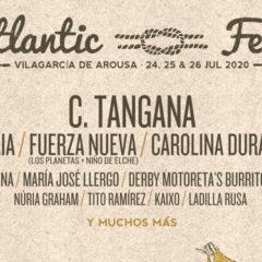 Atlantic fest 2020, festival en Vilagarcía de Arousa