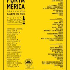 Festival PortAmerica 2020 en Caldas de Reis