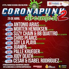 CORONAPUNK Streamfest 2, el festival en directo para hacértelo pasar bien en cuarentena