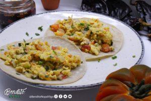 Bendito Nopal Huevo taco