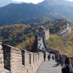 Esta semana toca viajar «gratis» a  La Gran Muralla China, descubre como hacerlo; ya sabes desde donde!!