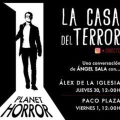 Charla con Álex de la Iglesia y Paco Plaza en 'La Casa del Terror'