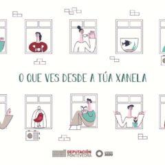 Concurso de dibujo infantil «O que ves desde a túa Xanela»