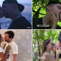 Los famosos se besan en el nuevo tema de Residente 'Antes Que El Mundo Se Acabe'