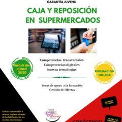 Cruz Roja en Valladolid organiza un curso gratuito on line `Curso de Caja y Reposición en Supermercados´