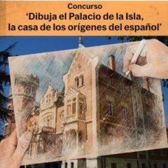 Concurso infantil en Burgos 'Dibuja el Palacio de la Isla'