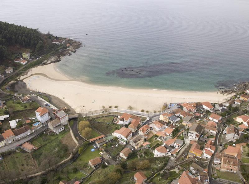 Playa Loira Marín Mejores playas Pontevedra