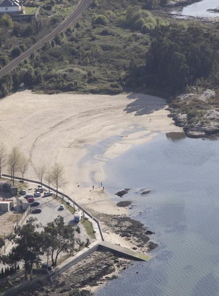 Playa de Bamio Vilagarcía