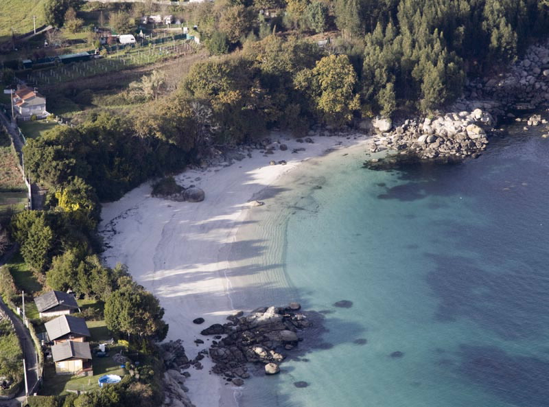 Playa de Castiñeiras Cangas