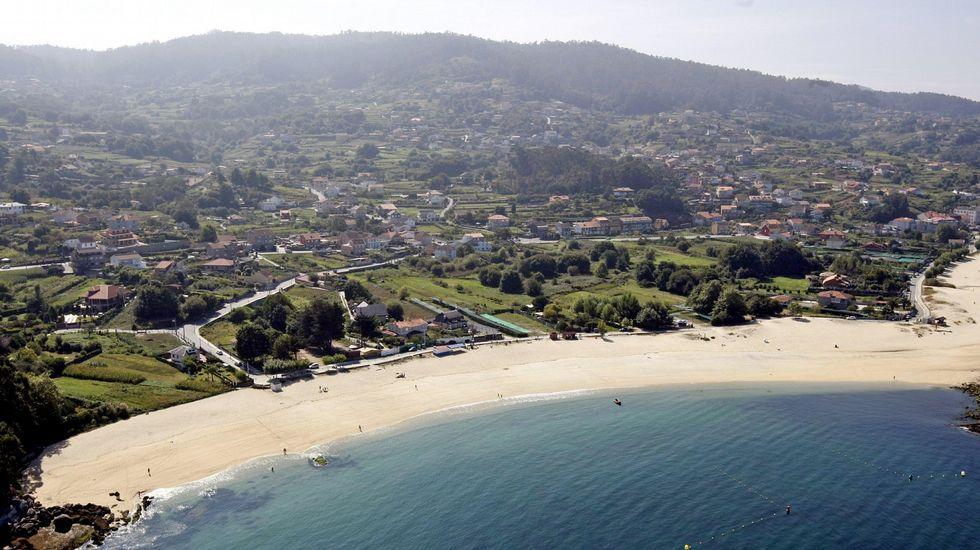 Playa de Lapamán Marín