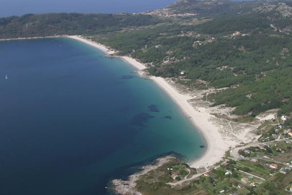 Playa de Nerga Vino y Barra Cangas Mejores playas Pontevedra