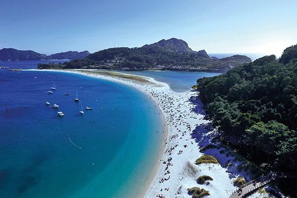 Islas Atlánticas Playa de Rodas