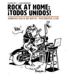 Rock at home, festival de música benéfico en streaming