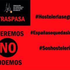 La hostelería Burgalesa y de Castilla y León se une para plantar cara a las medidas del Gobierno en la desescalada