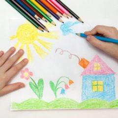 Una exposición mostrará los dibujos de los niños en casa