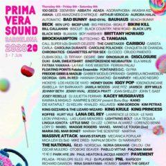 Concierto de Primavera Sound 2021 en Parc del Fòrum en Barcelona