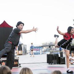 Asacocirco Show, espectáculo familiar en Baiona