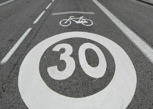 Comienza la creación de ciclocarriles en Burgos