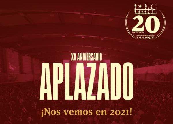 La XX edición de Ebrovisión se postpone a 2021