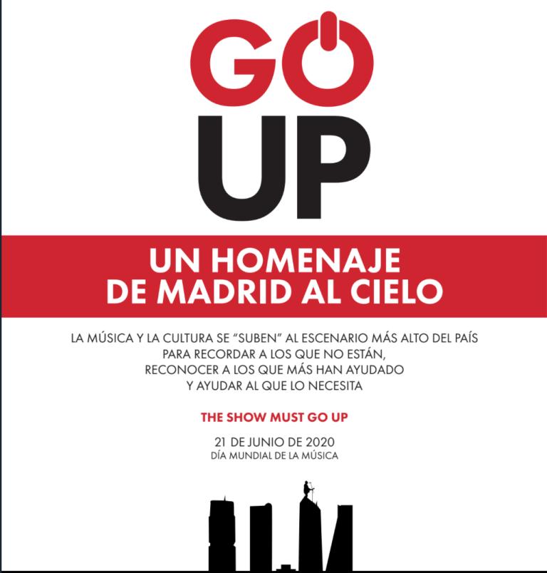 Go Up concierto solidario