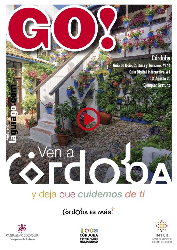 Portada Guia GO Córdoba Verano en Desescalada Julio & Agosto
