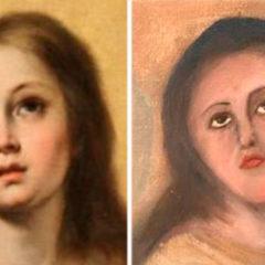 La restauración de una 'Inmaculada' de Murillo acaba como el Ecce Homo