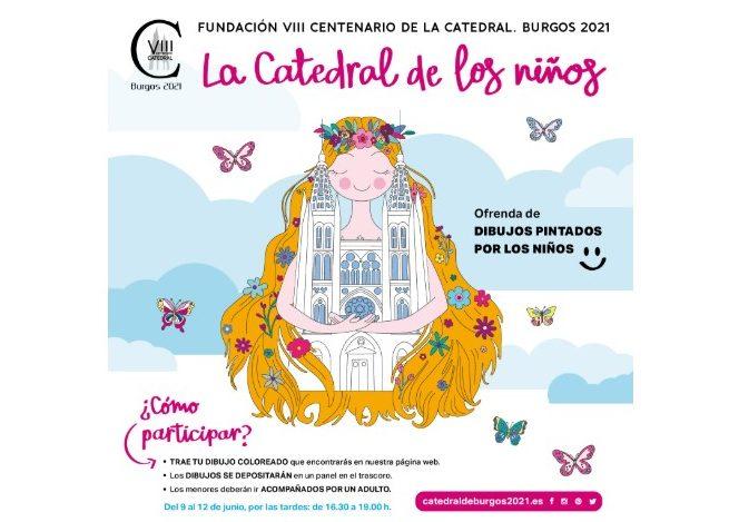 Los más pequeños pueden hacer sus dibujos para la catedral durante la próxima semana