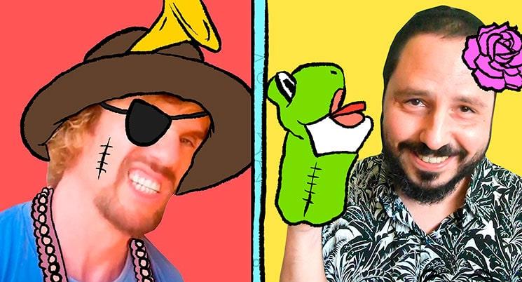 Macaco y El Kanka en su nuevo videoclip 'Confitados'