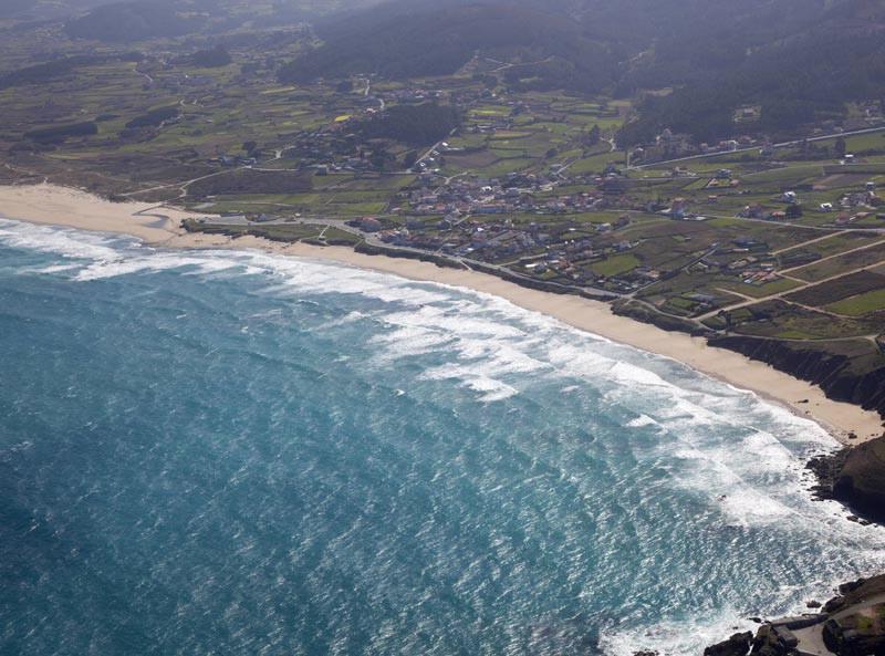 Playa de Razo Carballo
