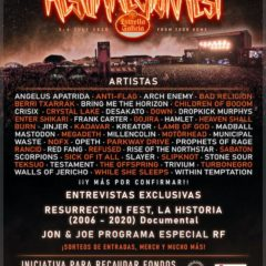Resurrection Fest online, festival benéfico