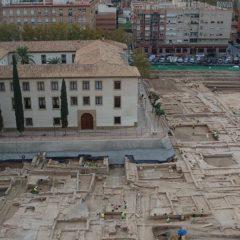 Cuatro pérgolas protegerán las excavaciones del yacimiento de San Esteban