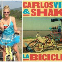 `Música de nuestras Vidas´ hoy Shakira y Carlos Vives y su tema la Bicicleta