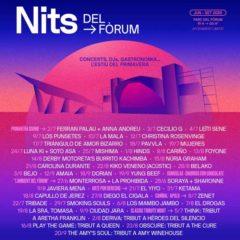 Concierto de Nits del Fòrum 2020 en Parc del Fòrum en Barcelona