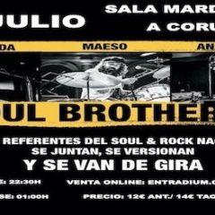 Soul Brothers -Zelada, Maeso y Anaut- en Sala Mardi Gras