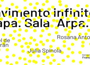 04/10Pavimento infinito. Mapa. Sala. Arpa. Alba en Centro Federico García Lorca en Granada